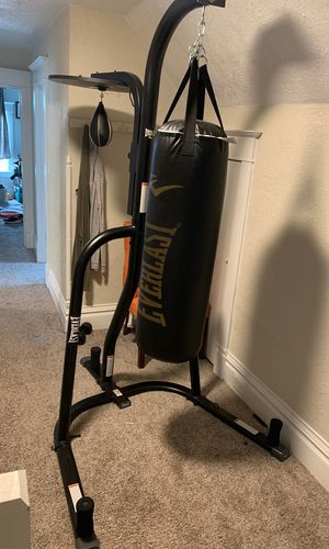 Boxing Bag, Speed Bag, and Stand for Sale in Spokane, WA