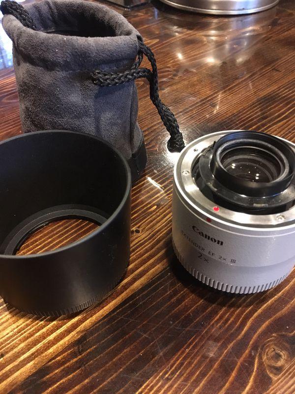 Canon DSLR extender lense 2x