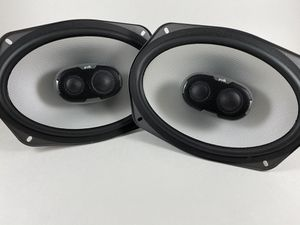 "Pair of Polk Audio 6x9 Car Speakers (6""x9"") 3-Way 300 Watts for Sale in Carol Stream, IL"