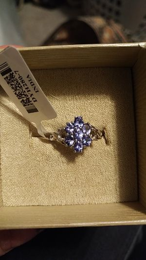 Oval Tanzanite Sterling Silver Ring for Sale in Denver, CO