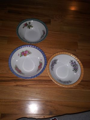 Yamatsu vegetable bowls set of 3 for Sale in HUNT, WV