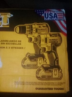 Brushless combo set drill impact for Sale in Citrus Heights, CA
