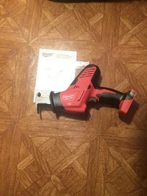 Milwaukee. M18 18V Lithium-Ion Cordless Hackzall Reciprocating Saw (Tool-Only). 2625-20. for Sale in Queens, NY