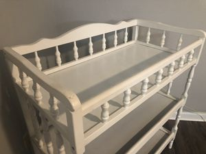White Changing Table for Sale in Roanoke, TX