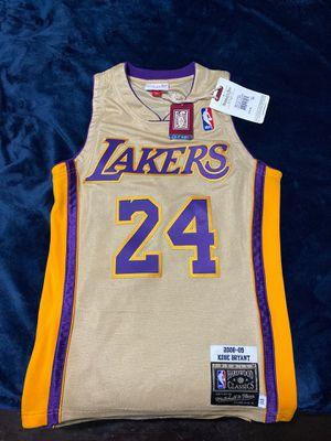 Kobe Bryant premium gold jersey, xs for Sale in Orange, CA