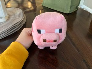 Minecraft Baby Pig Stuffed Animal for Sale in Raleigh, NC