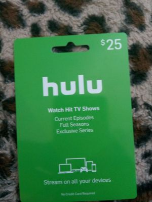 Hulu premium account 2 months.(Trade for psn card) for Sale in Las Vegas, NV