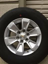 "Chevrolet oem chevy wheels rims 17"" for Sale in Fontana, CA"