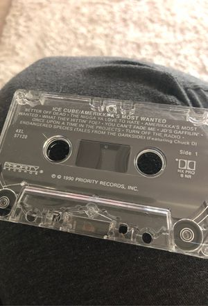 Ice cube America's most wanted cassette no case for Sale in Sloughhouse, CA