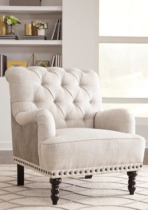 New Brand Tartonelle Ivory Accent Chair for Sale in Houston, TX