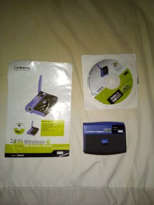 Linksys wireless router for Sale in Akron, OH