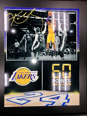 Kobe Plaque! Shaq and Kobe Canvas! Collectors items! for Sale in Ontario, CA