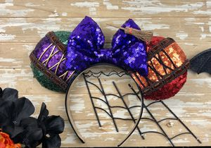 Sequin Hocus Pocus Disney Ears for Sale in Highland, CA