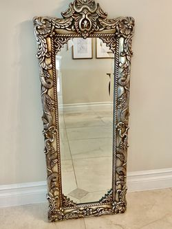 Antique Silver Wall Mirror for Sale in Los Angeles,  CA