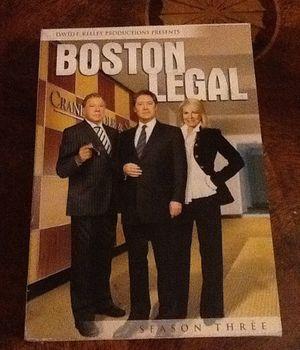 Boston legal seasons 1-5 for Sale in Anaheim, CA