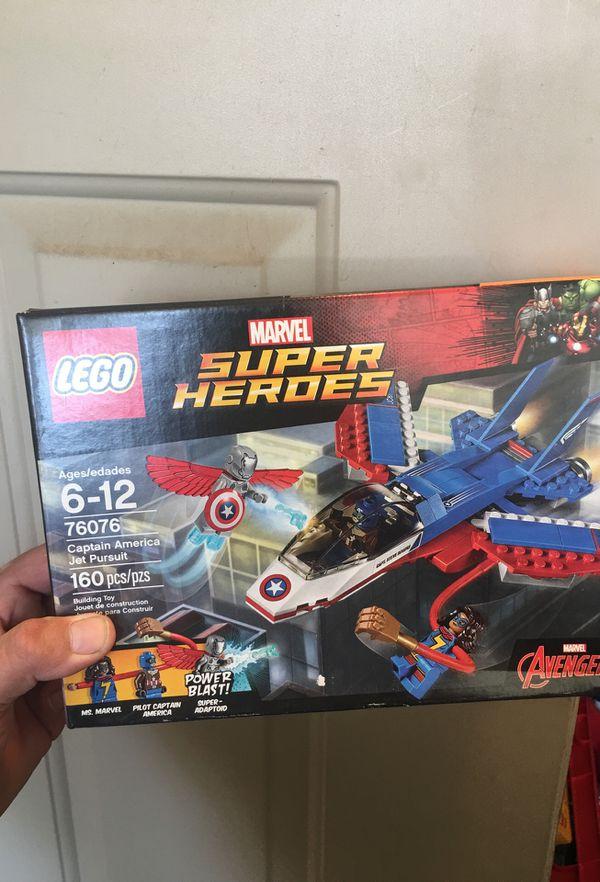 LEGO marvel super heroes 76076 captain America jet pursuit