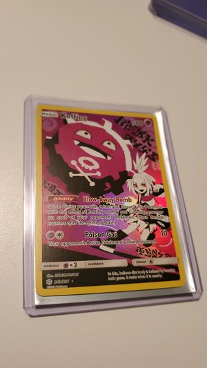 Koffing Secret Rare Character Card 243/236 for Sale in Perris, CA