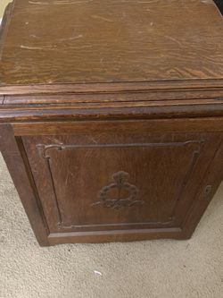 Vintage Sewing Machine Cabinet for Sale in Leander,  TX