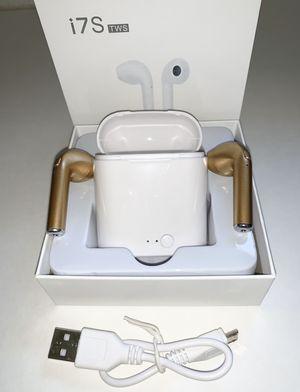 Wireless EarPods i7S GOLD for Sale in Jurupa Valley, CA