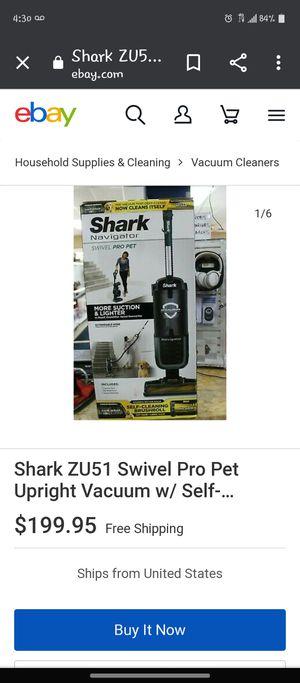 Shark vacuum for Sale in Whittier, CA