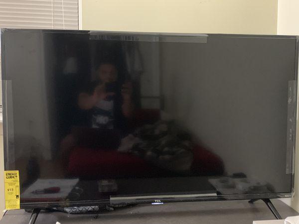 TCL 50 inch 4K HRD smart tv