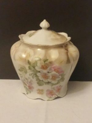 Hand Painted Antique China Cookie Jar for Sale in Aurora, CO