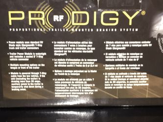 Prodigy® RF Electronic Brake Control, for 1 to 3 Axle Trailers, Trailer Mounted, Proportional for Sale in Everett,  WA