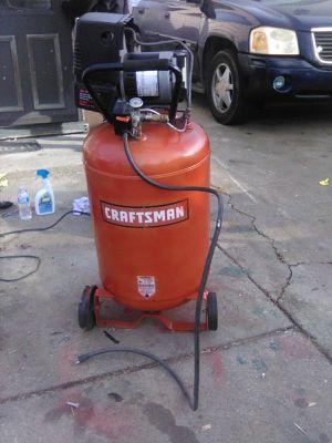 Craftsmen air compressor for Sale in Peoria, IL