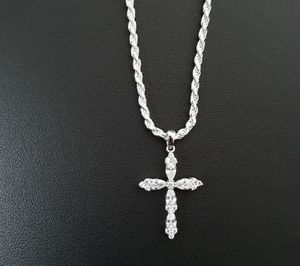 Icy Cross Necklace 925 sterling silver for Sale in Los Angeles, CA