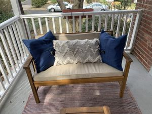 Patio furniture set with pillows and cushions for Sale in Chevy Chase, MD