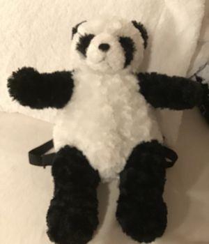 Panda stuffed animal backpack from San Diego zoo for Sale in Corona, CA