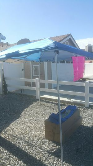 New canopies $30 each located in Hesperia 9117 Aspenwood Lane Hesperia for Sale in Hesperia, CA