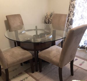 Glass dining table for Sale in Annandale, VA