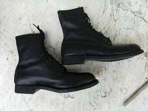 Men's Combat Steel -Toed Boots / Biker Boot 12 1/2 R for Sale in Kansas City, MO