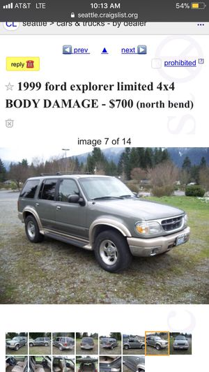 Ford Explorer Mechanics special for Sale in Issaquah, WA