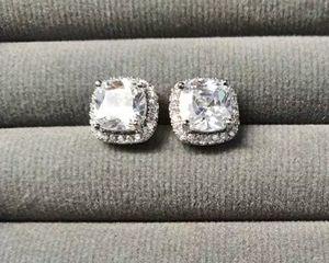 3cts Cushion Cut Diamond Stud Earring for Sale in Aspen Hill, MD