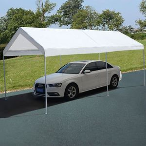 10 x 20 Steel Frame Portable Car Canopy Shelter Outdoor Use for Sale in Henderson, NV