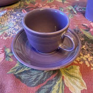 LILAC FIESTA TEA COFFEE CUP HOMER LAUGHLIN FIESTAWARE for Sale in Branford, CT