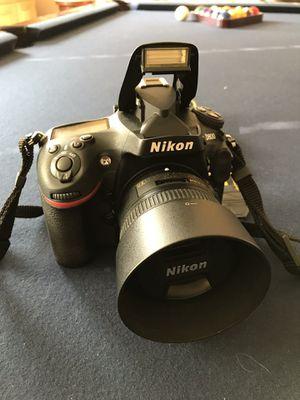 Nikon D800 50mm lens plus accessories for Sale in Roseville, CA