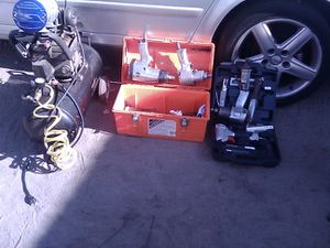 Air competition tools and compressor for Sale in Menifee, CA