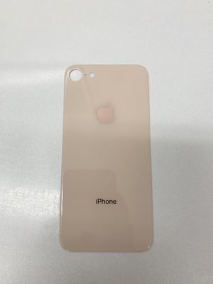 iPhone 8 Back Glass Big Hole Part - Gold for Sale in Lakewood, CA