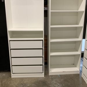 IKEA Closet with shelves and drawers for Sale in Covington, WA