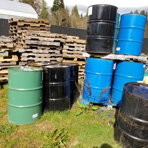 Used and empty 55 gallon drum for Sale in Port Orchard, WA