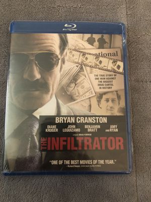 The Infiltrator Blu-ray Still Sealed for Sale in Tampa, FL