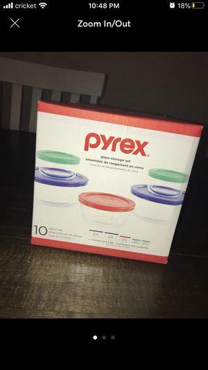 Pyrex glass storage for Sale in Columbus, OH