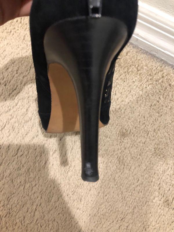 Audrey Brooke Suede Heel - Size 8