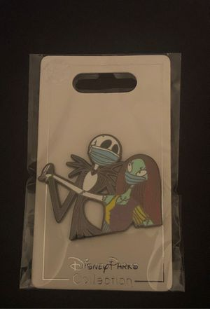 (NEW) Disney Parks NIGHTMARE BEFORE CHRISTMAS (with Covid-19 Masks) trading Pin for Sale in Davenport, FL