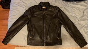 Mango Men's Faux Leather Jacket ( Never Used. Original Price $150) for Sale in Philadelphia, PA