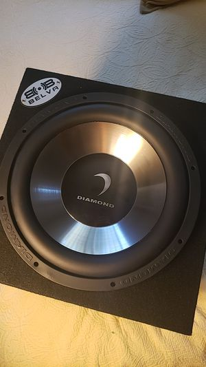 "12"" Diamond Audio and Sub Box Pro Installed for Sale in Santa Ana, CA"