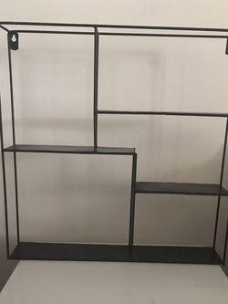 Shelf , Floating Shelf , Black Shelves, Black Ladder Bookcase , Black Storage Velvet Ottoman, Desk Lamp, Standing Lamp , Side Table, Shoe Rack for Sale in Los Angeles,  CA